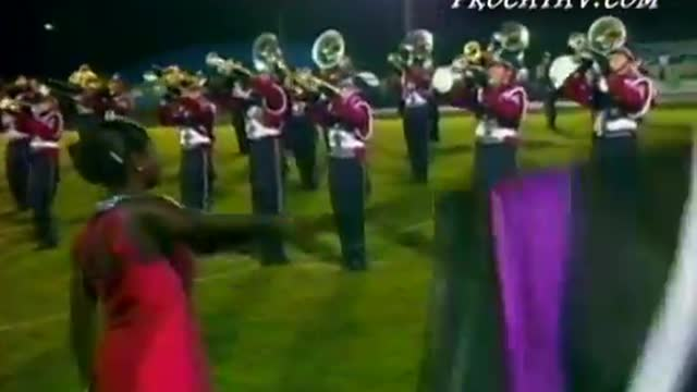 Oak Mountain High Band at 2009 Shelby County Showcase in Calera, AL