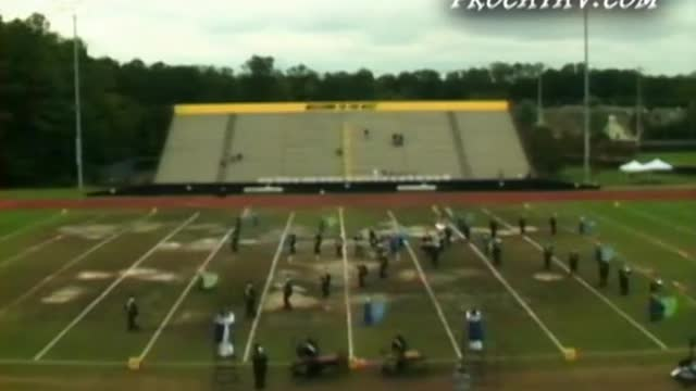 Centennial High Band at 2009 Southern Invitational in Sprayberry, GA