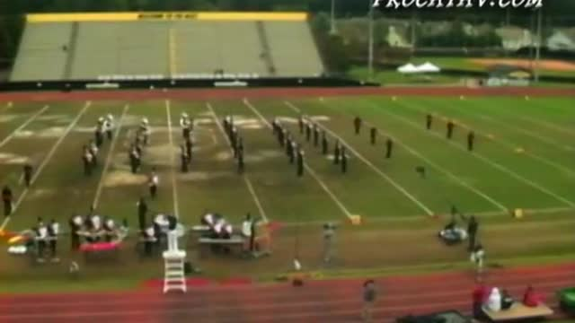 Dutchtown High Band at 2009 Southern Invitational in Sprayberry, GA