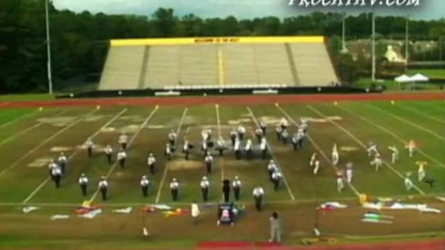 Fultondale High Band at 2009 Southern Invitational in Sprayberry, GA