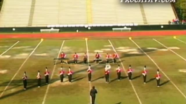 Ezell Harding High Band at 2009 Southern Invitational in Sprayberry, GA