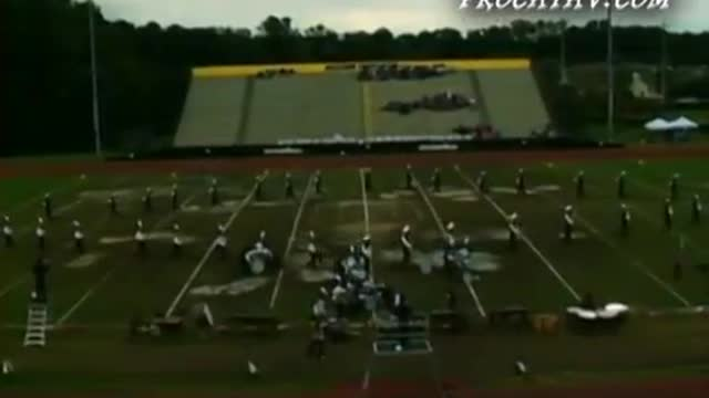 South Gwinnett High Band at 2009 Southern Invitational in Sprayberry, GA