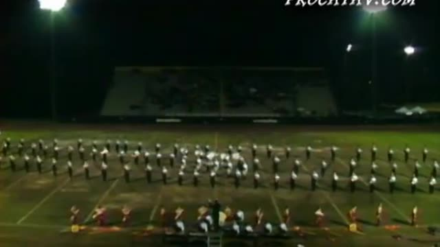 Norcross High Band at 2009 Southern Invitational in Sprayberry, GA