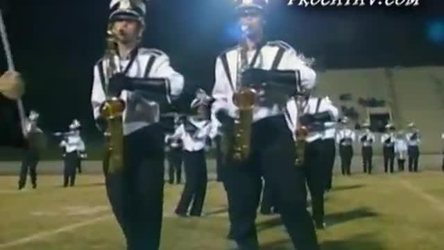 Houston County High Band at 2009 Heart of Georgia Invitational in Warner Robins, GA