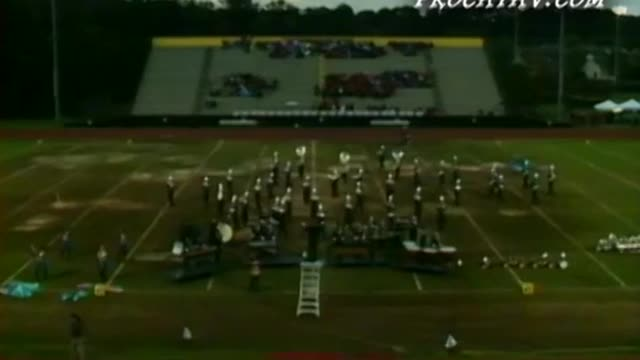 Marietta High Band at 2009 Heart of Georgia Invitational in Warner Robins, GA