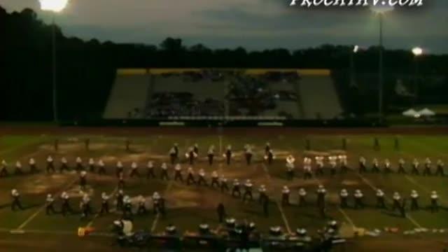 East Paulding High Band at 2009 Heart of Georgia Invitational in Warner Robins, GA