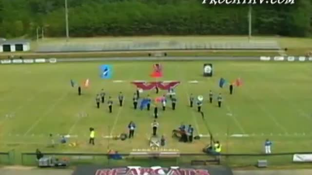 White Plains High Band at 2010 Dixie Jubilee Marching Festival in Weaver, AL