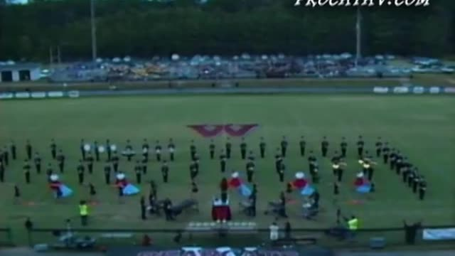 Weaver High Band at 2010 Dixie Jubilee Marching Festival in Weaver, AL