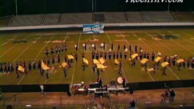 Baldwin High Band at 2010 Old South Marching Festival in Newnan, GA