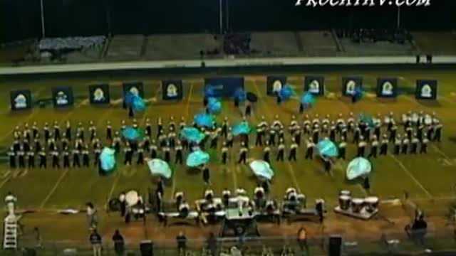 Newnan High Band at 2010 Old South Marching Festival in Newnan, GA