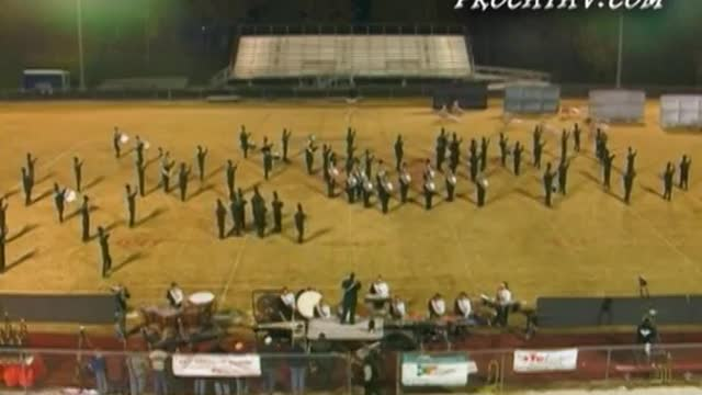 Clinton High Band at 2006 Stone Mountain Marching Festival in Knoxville, TN
