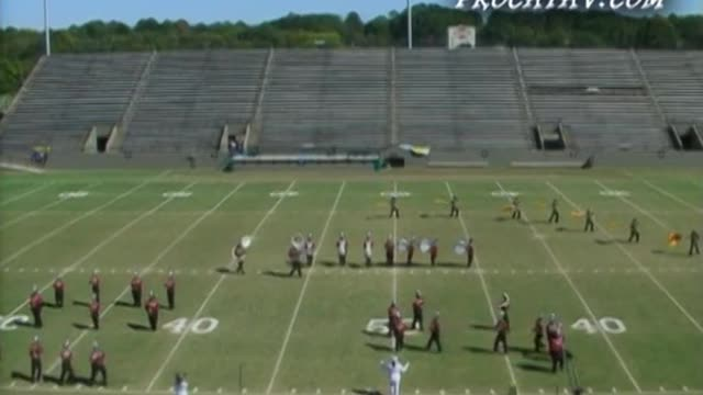 Abbeville High Band at 2006 Southern Showcase Marching Invitational in Dothan, AL