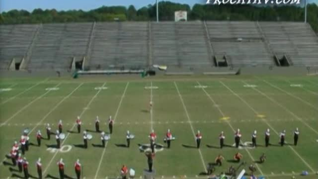 Cottonwood High Band at 2006 Southern Showcase Marching Invitational in Dothan, AL