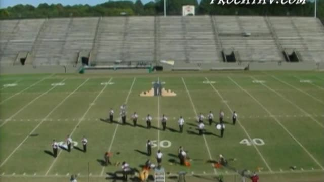 Graceville High Band at 2006 Southern Showcase Marching Invitational in Dothan, AL