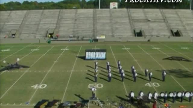 St. James High Band at 2006 Southern Showcase Marching Invitational in Dothan, AL