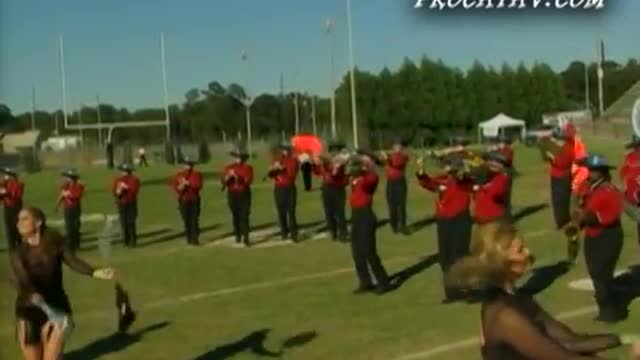 Slocomb High Band at 2006 Southern Showcase Marching Invitational in Dothan, AL