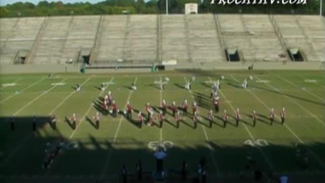 New Brockton High Band at 2006 Southern Showcase Marching Invitational in Dothan, AL