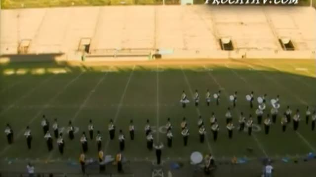 Ashford High Band at 2006 Southern Showcase Marching Invitational in Dothan, AL