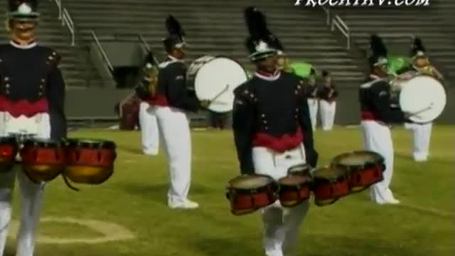 Dothan High Band at 2006 Southern Showcase Marching Invitational in Dothan, AL