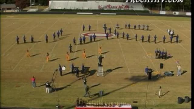 Campbell High Band at 2006 Georgia Bandmasters Championship in Cummings, GA