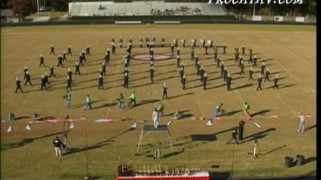 North Springs High Band at 2006 Georgia Bandmasters Championship in Cummings, GA