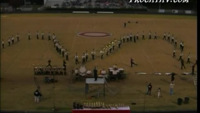 Roswell High Band at 2006 Georgia Bandmasters Championship in Cummings, GA