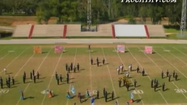Rocky Bayou High Band at 2007 Gulf Coast Showcase of Champions in Cantonment, FL