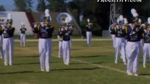 Gulf Breeze High Band at 2007 Gulf Coast Showcase of Champions in Cantonment, FL