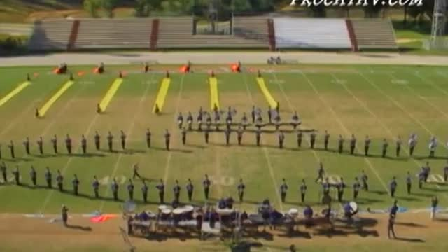 Fairhope High Band at 2007 Gulf Coast Showcase of Champions in Cantonment, FL
