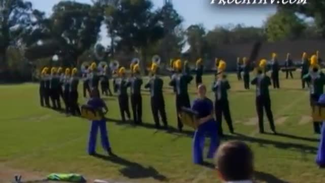Lincoln High Band at 2007 Gulf Coast Showcase of Champions in Cantonment, FL