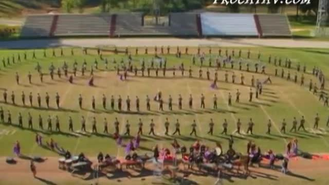 Hoover High Band at 2007 Gulf Coast Showcase of Champions in Cantonment, FL