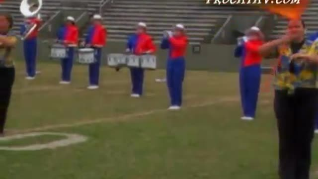 Freeport High Band at 2008 Southern Showcase MBF in Dothan, AL