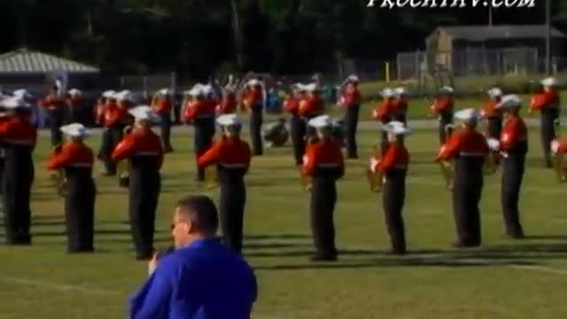 Tate High Band at 2008 Gulf Coast Showcase of Champions in Cantonment, FL