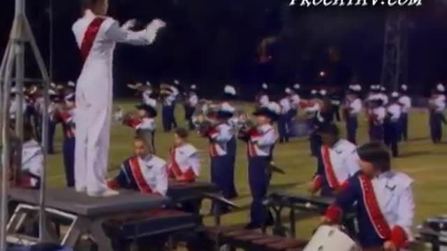 Pine Forest High Band at 2008 Gulf Coast Showcase of Champions in Cantonment, FL