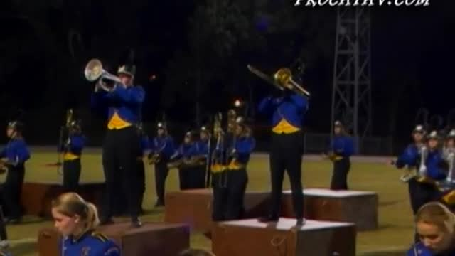 Fairhope High Band at 2008 Gulf Coast Showcase of Champions in Cantonment, FL