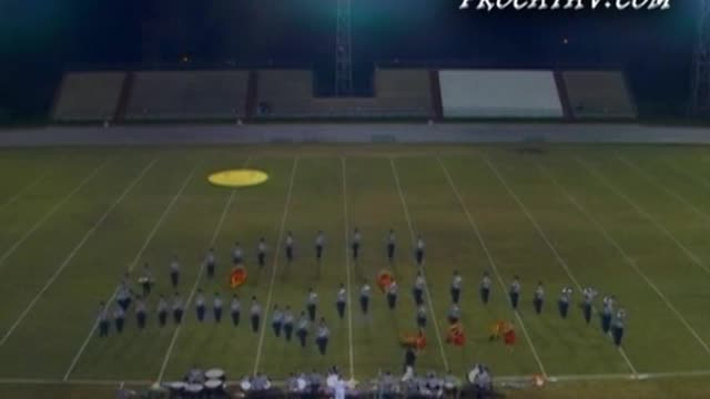 St Thomas More High Band at 2008 Gulf Coast Showcase of Champions in Cantonment, FL