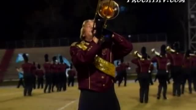 Robertsdale High Band at 2008 Gulf Coast Showcase of Champions in Cantonment, FL
