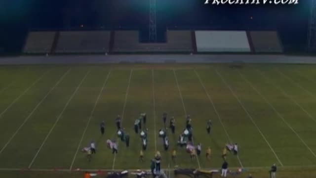 South Walton High Band at 2008 Gulf Coast Showcase of Champions in Cantonment, FL