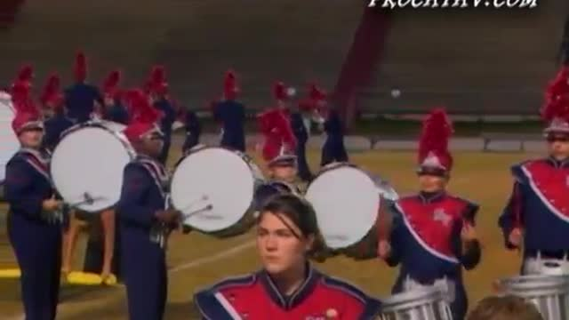 North Vermillion High Band at 2008 Gulf Coast Showcase of Champions in Cantonment, FL