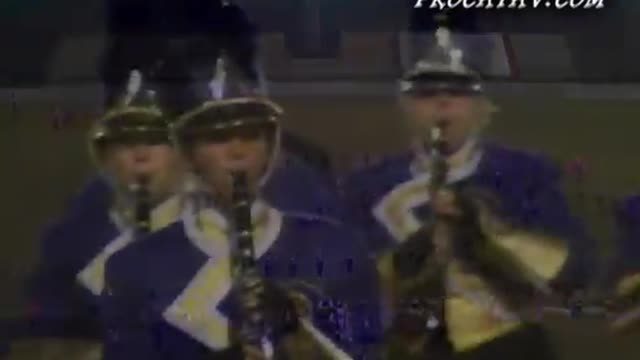 Daphne High Band at 2008 Gulf Coast Showcase of Champions in Cantonment, FL