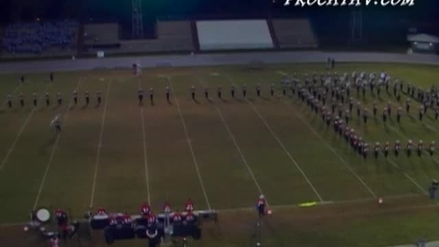 Tate High Band 2nd Performance at 2008 Gulf Coast Showcase of Champions in Cantonment, FL