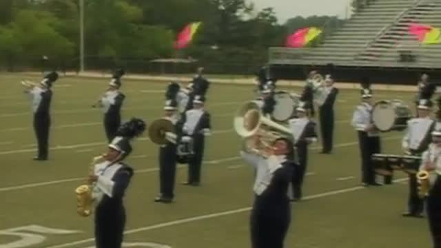 Plainview High Band at 2012 Mid South MBF in Gadsden, Alabama