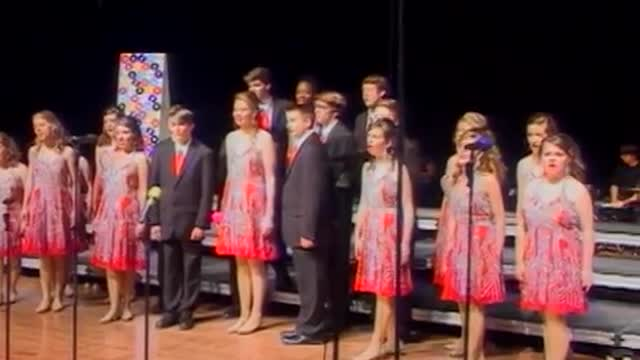 Pisgah High Choir -Innergy-Performance at 2013 West Jones Show Choir in Laurel, MS