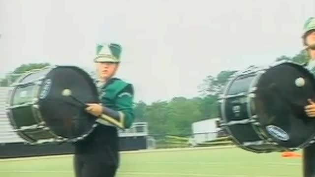 Sylvania High Band at 2012 Mid South MBF in Gadsden, Alabama