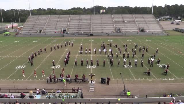 Northview High Band  - Wide Angle ONLY - at 2013 Southern Showcase in Dothan