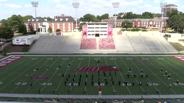 Lincoln High Band at 2013 JSU Contest of Champions MBF in Jacksonville, Alabama