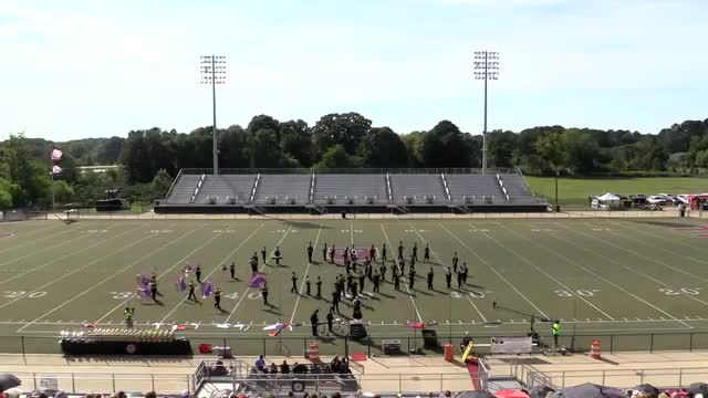 East Lawrence High Band at 2013 Mid South MBF in Gadsden, Alabama