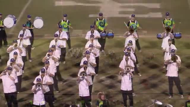 Southeast Bulloch High Band at 2013 Georgia Marching Band Series C