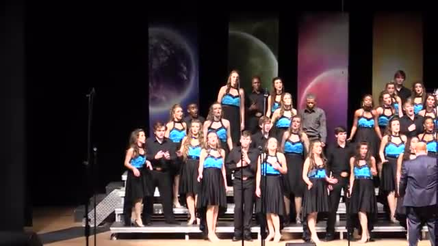Madison Central High Choir - Reveille Performance at 2014 South Jones Show Choir in Ellisville, MS