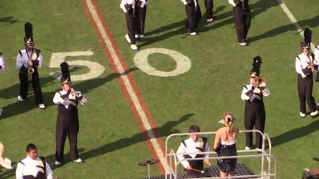 Fort Payne High Band at 2013 Hoover Invitational MBF in Hoover, Alabama